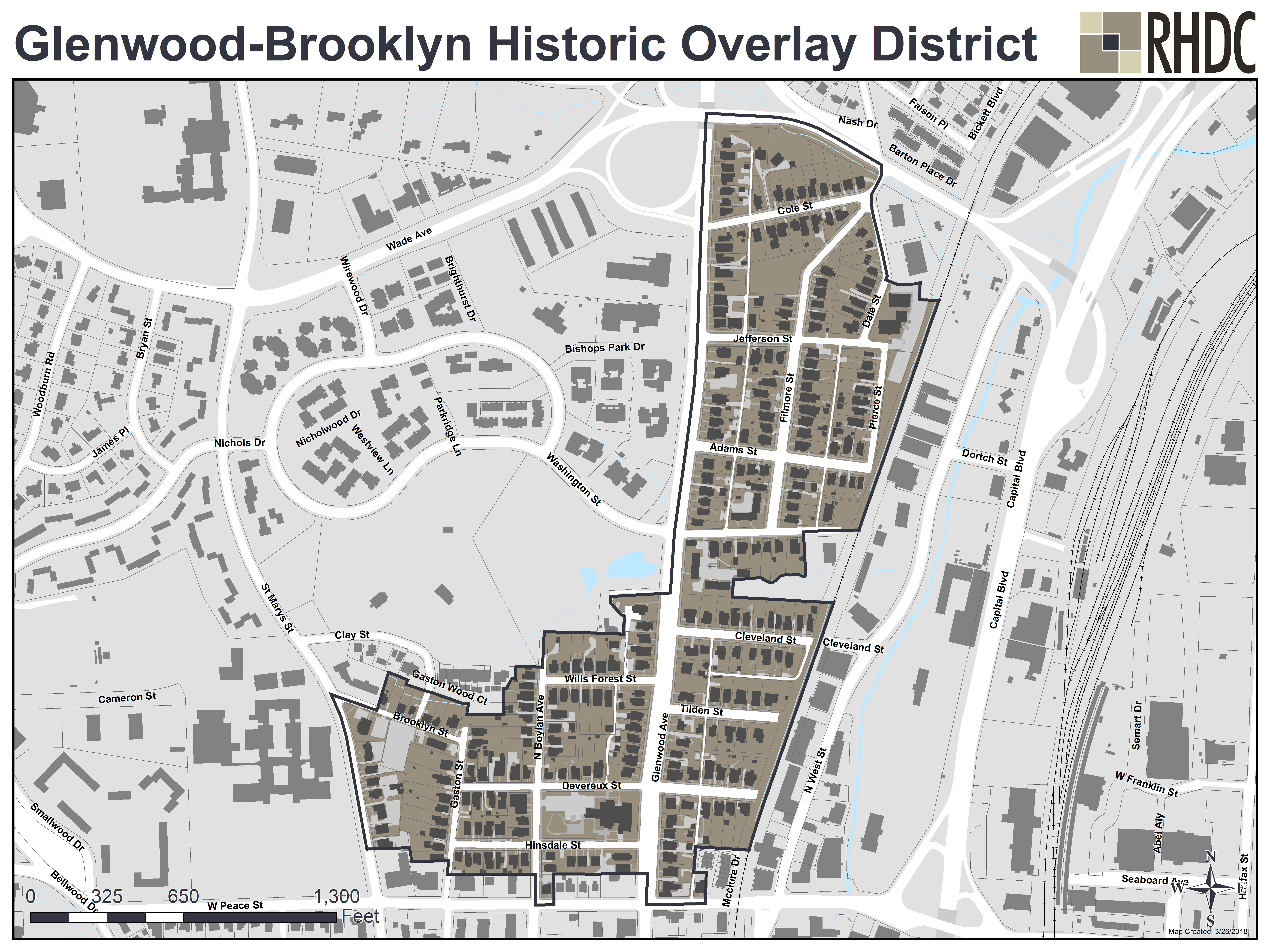 Glenwood-Brooklyn Historic District Overlay