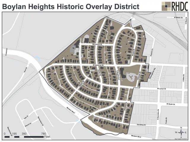 Boylan Heights Historic Overlay District