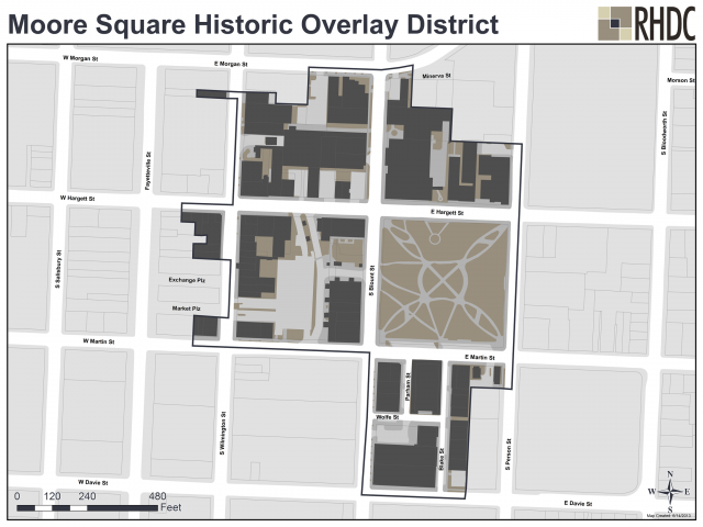 Moore Square Historic Overlay District