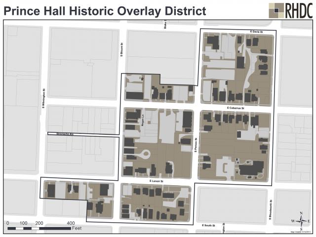 Prince Hall Historic Overlay District