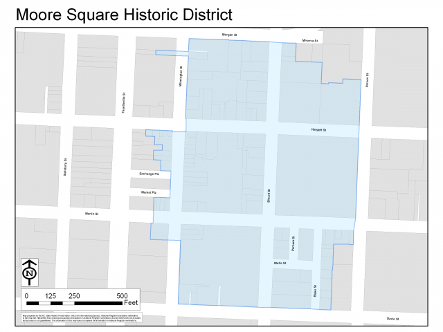 The Moore Square Historic District
