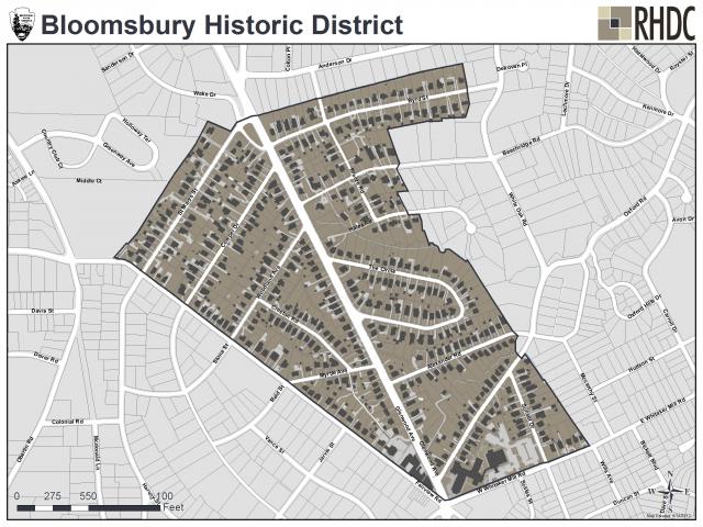 Bloomsbury Historic District