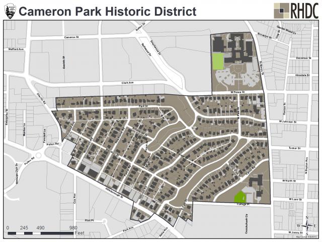 Cameron Park Historic District