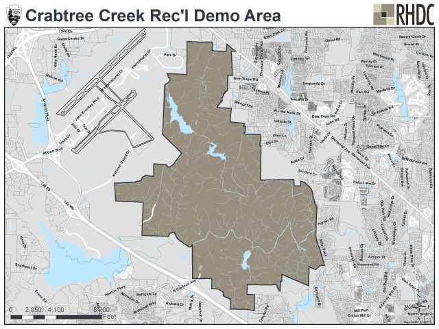 Crabtree Creek Recreational Demonstration Area
