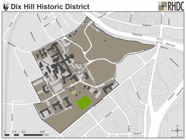 Dix Hill Historic District