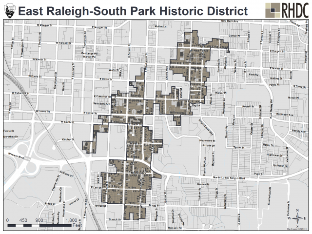 East Raleigh-South Park Historic District