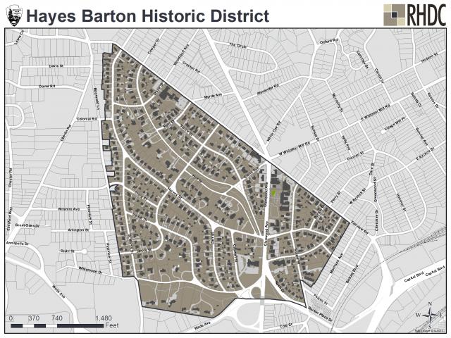 Hayes Barton Historic District
