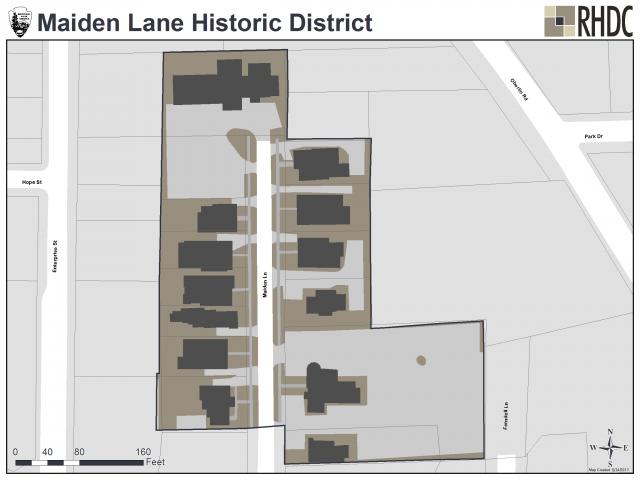 Maiden Lane Historic District