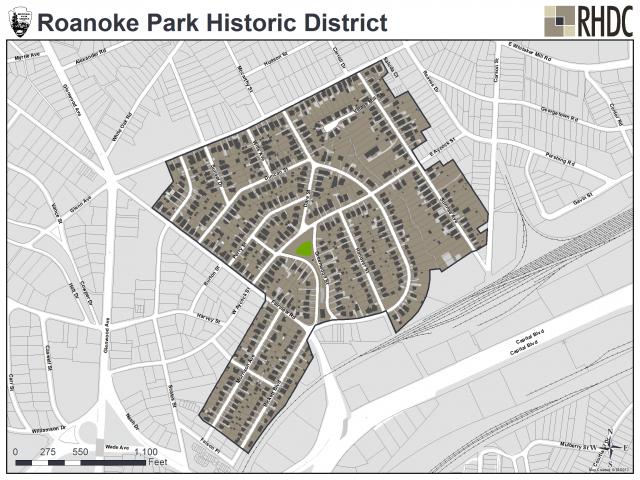 Roanoke Park Historic District